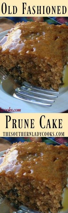 the-southern-lady-cooks-old-fashioned-prune-cake is one of the best dessert cake recipes ever. (frosting recipe for cake best) Dessert Cake Recipes, Fun Desserts, Delicious Desserts, Yummy Food, Holiday Desserts, Cupcakes, Cupcake Cakes, Food Cakes, Prune Cake