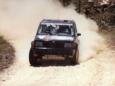 Jordi Puigdellivol-J.Mª Falcó. SEAT Marbella Proto. Spanish Rally Championship 1990