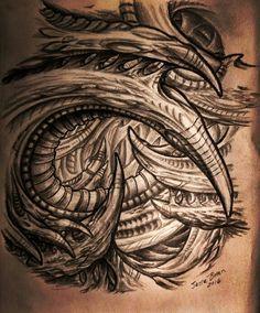 cleanfun tattoo biomechanical biomechanical pinterest tattoo vorlagen tattoo ideen und. Black Bedroom Furniture Sets. Home Design Ideas