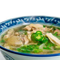 Phở Gà (Vietnamese Chicken Noodle Soup)