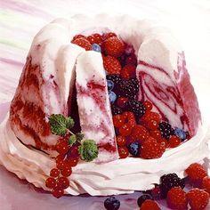Erdei gyümölcsös parfétorta Trifle, Tupperware, No Bake Cake, Parfait, Fudge, Pancakes, Ice Cream, Sweets, Candy