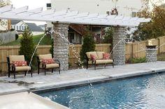 Pool Pergola  Pergola and Patio Cover  Mid Atlantic Enterprise Inc  Williamsburg, VA