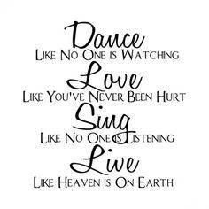 Dance, Love, Sing
