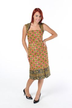 African prints dress by Bongolicious1 on Etsy, $55.00