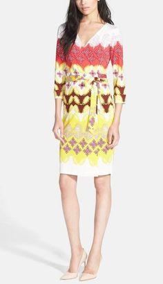 Classic - Diane von Furstenberg wrap dress.