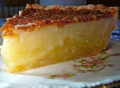 If you want to make a good pie, this southern pie is what you need! Very easy to prepare and it tastes like heaven! Check it out.    You'll Need:    ½ cup of buttermilk.  1 ¾ cups of sugar.  2