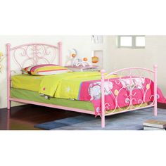 Found it at Wayfair - Twin Wrought Iron Bed