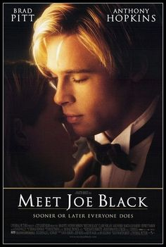 """Meet Joe Black. Who ever thought """"death"""" could be so handsome...??"""