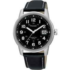 35d8ed1e51c31 New Pulsar New Pulsar Kinetic Watch with Black Strap online. Find great  deals on Pulsar mens watches from top watches store - watchesstyles