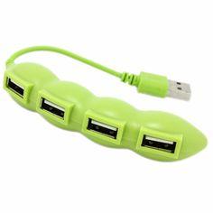 NEW Portable Fruit Design Hi-Speed 4-Port USB 2.0 Hub For Desktop PC Laptop In stock! #Affiliate