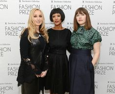 Introducing the US judges for the 2013 Dorchester Collection Fashion Prize : personal shopper of Neiman Marcus Catherine Bloom, couture designer Gelila Puck and celebrity stylist Penny Lovell. Not pictured, fashion editor Derek Blasberg.  #DCFashionPrize