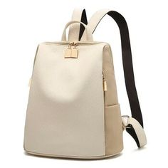 5a31d2090d Women Backpack for School Style Leather Bag For College Simple Design Women  рюкзак Fashion Backpack