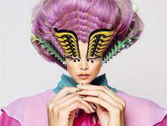 Psychedelic Collage Catalogs : Romance Was Born Spring/Summer 2014 Psychedelic Fashion, Psychedelic Art, Creepy Clown, Arte Pop, Australian Fashion, Fashion Labels, Trippy, Creative, Editorial Fashion