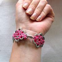 Alexandra, Reine de Tout: Craft #7 (the last!) Hex Nut Bracelet