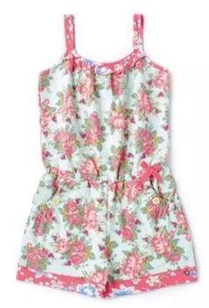1170ff89cf86 Jumpsuits and Rompers 175528  New Matilda Jane Backyard Bbq Romper 10 Girl  S Tween Floral