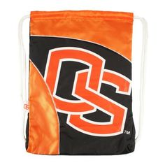 """NCAA Oregon State Curve Cinch by Littlearth. $11.72. Measures: 13"""" x 1"""" x 18""""; 100% Polyester; Decoration: Screen Print; Wipe Clean with Damp Cloth. Durable polyester fabric with contrasting """"SporTech"""" fabric in two-tone team color; large, blown out screenprinted team logo; woven locker tag with team logo; thick, 5/8"""" Fat Cord for comfortable use; hanging pocket in interior; """"Property Of"""" nametag on back"""
