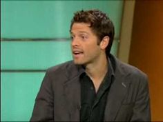 Misha Collins interview on KTLA. Such a charmer!!