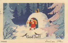 Paul Jerima Christmas Holidays, Winter, Painting, Vintage, Christmas Vacation, Winter Time, Painting Art, Paintings, Vintage Comics