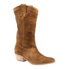 @Overstock - Come saddle up in this gorgeous cowboy boot that hits mid calf. The semi-pointed toe trend is in full effect on this boot, adorned with stitching detail up the sides and on the front in true western style. A cute pull on cowboy boothttp://www.overstock.com/Clothing-Shoes/Womens-Diba-Pre-Tender-Cognac-Suede/7402573/product.html?CID=214117 $138.95