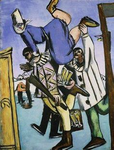 Max Beckmann, The Skaters, 1932, oil on canvas, The Minneapolis Institute of Arts