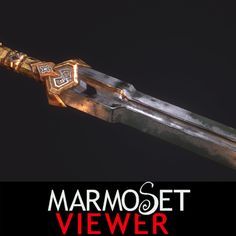 Thorin Sword, Romain Pommier on ArtStation at https://www.artstation.com/artwork/thorin-sword