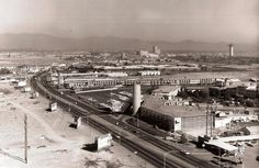Las Vegas Strip, Nov. 1963 the week of the Kennedy assassination.