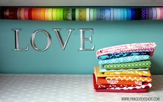 Fun fabric bunting and big toy sack, among other fabulous tutorials!