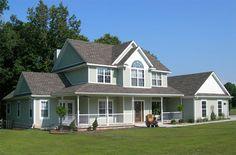 kanadische Häuser kanadischer Hausbau kanadische HolzhäuserFertighaus aus Amerika USA - kanadische Holzhäuser