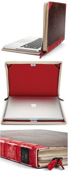 Como fazer um case de notebook de capa de livro