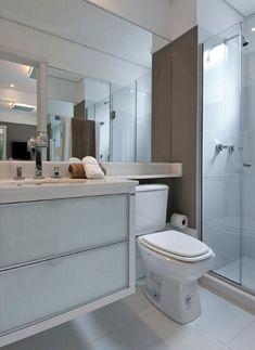banheiro de apartamento decorado - Pesquisa Google