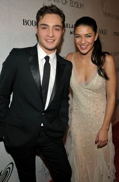 Pin for Later: Is There a TV Costar Curse? 30 Couples That Couldn't Make It Work Ed Westwick and Jessica Szohr