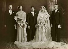Photograph taken by Dover Studios of an unidentified wedding.