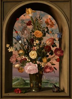 50 best Still Life — 17th century in Arched Niche and Window images Flower Vase For Niches on us metalcraft vases, niche flower holders, cemetery vases, floral vases, niche wall art, graveside vases, bud vases,
