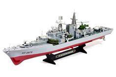 "31"" Destroyer Radio Remote Control Electric RC Battle Ship"
