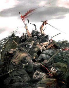 Viking Warriors were feirce and feared no one.