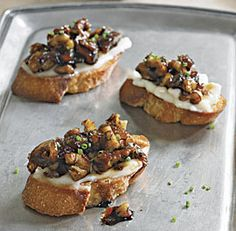 This appetizer of brie, dates and walnuts was a huge success at my last party. So easy!