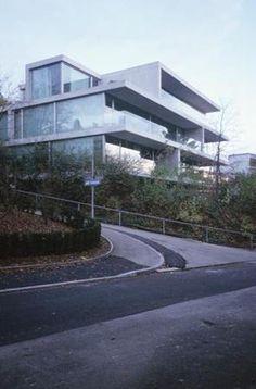 Christian Kerez  Apartment building on Forsterstrasse . Zürich