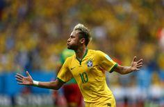 ネイマール2発で得点ランク単独トップ「自信になった」(東スポWeb) -ブラジルワールドカップ特集 - スポーツナビ