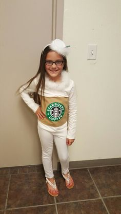Starbucks costume  sc 1 st  Pinterest & Starbucks costume DIY | Halloween DIY costumes | Pinterest | DIY and ...