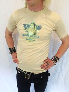Vintage 70s Mork the ork shirt mens size by thunderhorsevintage