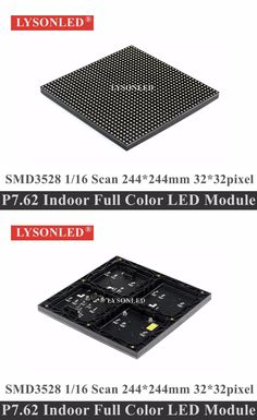 LYSONLED 20pcs/lot P7.62 Indoor SMD3528 Full Color LED Panel Module 244x244mm 1/16 Scan,P7.62 SMD 32x32 Indoor RGB LED Module