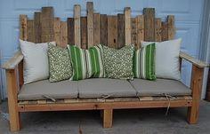 DIY Pallet Bench. - rugged-life.com