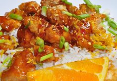 Gluten free/allergy free slow cooker Orange Chicken    It was good.  I would make this again.