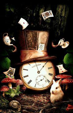 O relógio, o coelho e a cartola