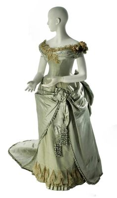 Victorian ball gown diy worth victorian ball gown ca 1886 mcny