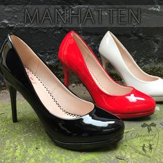 A timeless classic, the incredible Manhattan Stilettos from Dancing Days are the killer 11cm heels you've been looking for!⠀