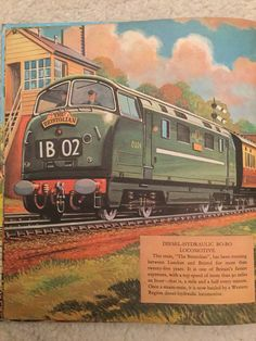 Warship Class Diesel Hydraulic - Trains of Today book 1962. pq