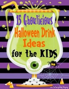 15 Ghoulicious Halloween Drink Ideas for the Kids | ThePartyAnimal-Blog
