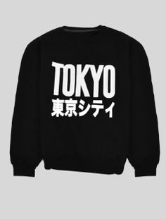 Image about cool in t-shirt👕 by Nanna ナナ on We Heart It Japanese Fashion, Korean Fashion, Black Jumper, Mode Style, Swagg, Fendi, Tokyo, Shirt Designs, Street Wear