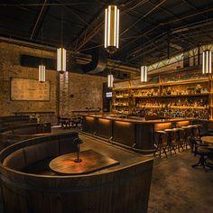 2015 Restaurant & Bar Design Award Winners Announced,Archie Rose Distilling Co. Australia / Acme & Co. Image Courtesy of The Restaurant & Bar Design Awards Cafe Restaurant, Restaurant Design, Restaurant Lighting, Luxury Restaurant, Restaurant Advertising, Modern Restaurant, Bar Design Awards, Design Café, Bar Interior Design